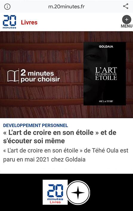 Article 20 Minutes - Août 2021